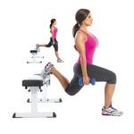 Fentes vs Squats pour le développement Leg